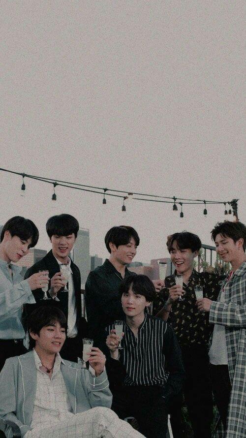 BTS aesthetic wallpaper photo