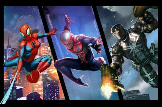Universos de Spider Man