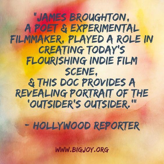 James Broughton, poet & experimental filmmaker helped shape todays flourishing #Indiefilm scene. #filmmaker #JamesBroughton #bigjoy #bigjoythefilm #film #documentary #press