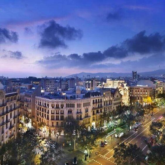 Passeig de Gràcia. Barcelona (Catalunya - Catalonia)