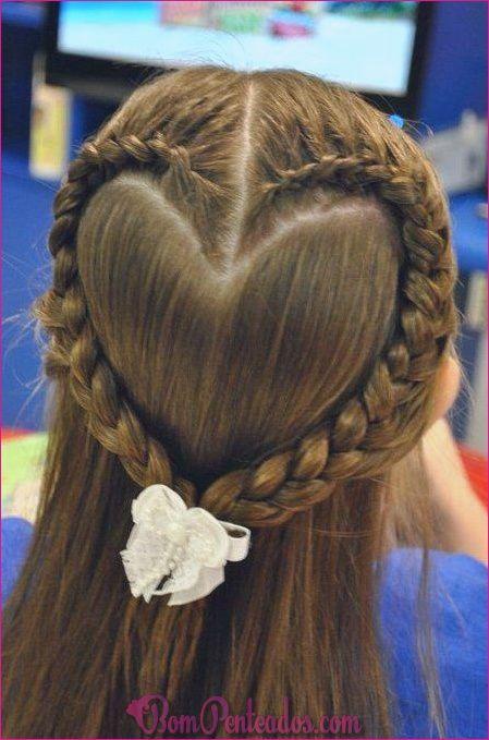 20 penteados da moda e cortes de cabelo para meninas adolescentes  #Adolescentes #cabelo #Cortes #meninas #penteados