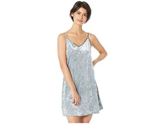 Roxy Womens Sleepy Night Velvet Dress