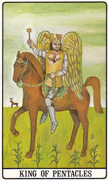 King of Pentacles - Golden Dawn by Israel Regardie, Robert Wang (1977)