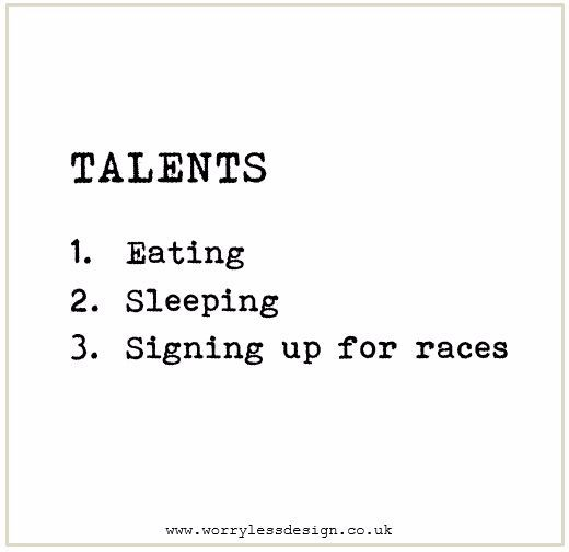 Talents Gift For Runner Running Quote Funny Motivational Quote For Runners Greetings Card For Runners Funny U Running Quotes Triathlon Quotes Running Memes