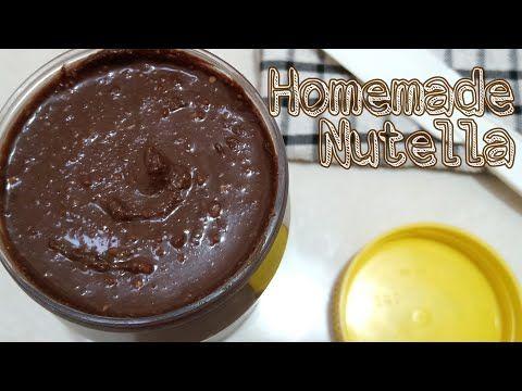 Homemade Nutella Cuma 4 Bahan Hanya Rp 17 000 Jadi 600 Gr Nutella Super Enak Banyak Dan Murah Youtube Makanan Nutella Hidangan Penutup