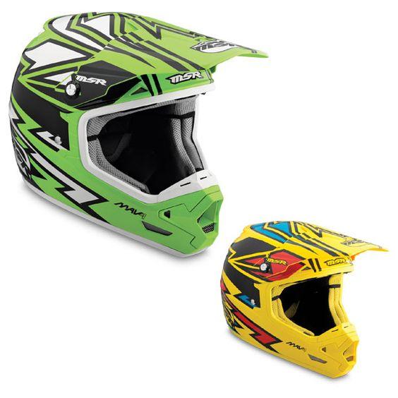 MSR Mav-1 Twisted Off Road MX Helmet