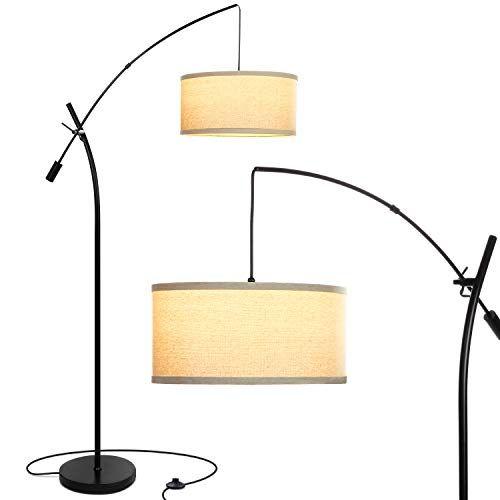 Brightech Grayson Modern Arc Floor Lamp For Living Room Contemporary Tall Led Light Reac Modern Arc Floor Lamp Unique Floor Lamps Tall Floor Lamps