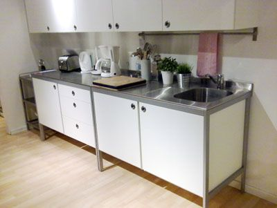freestanding kitchen, stainless steel and design layouts on, Kitchen