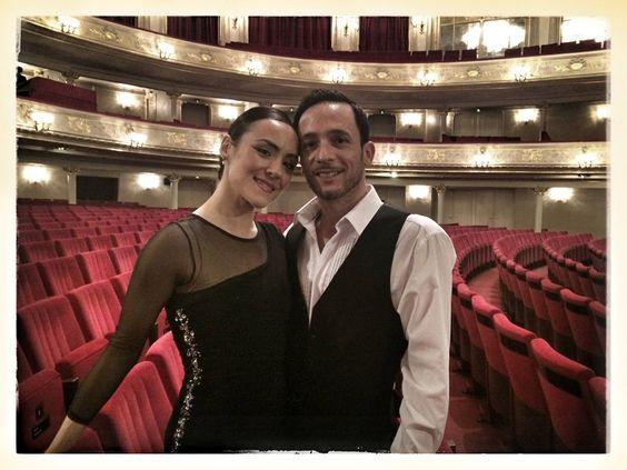 Das Tango-Tanzpaar in »María de Buenos Aires« Laura Fernández und Daniel Orellana