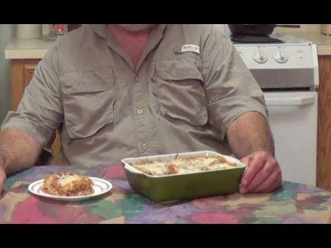 wild game lasagna