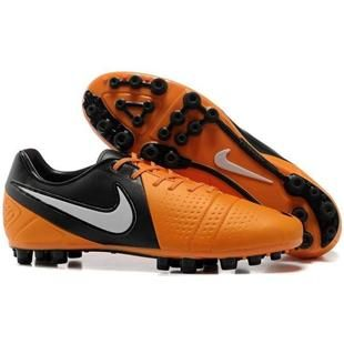 http://www.asneakers4u.com Nike CTR360 Maestri III AG Mens Artificial Grass Football Cleats In Total Orange Dark Grey White