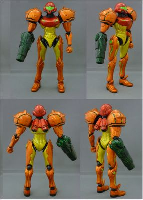 toycutter: Armored Samus action figure (Metroid)