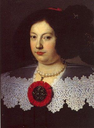 Maria Farnese, ca. 1635 (Justus Sustermans) (1597-1681) Galleria Estense, Modena