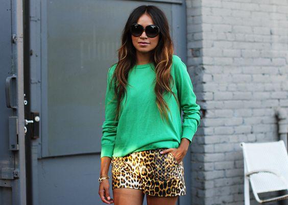 Verde e onça!!