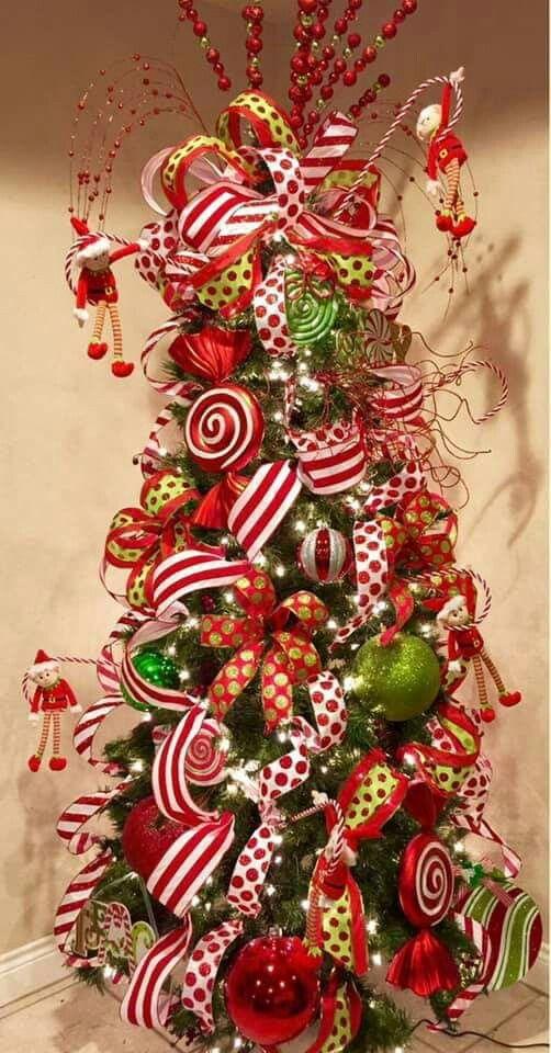 Pin By Lavera On Interior Decoration Grinch Christmas Tree Whimsical Christmas Christmas Tree Themes