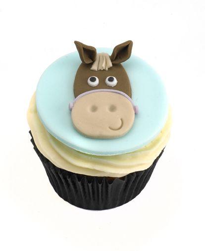 Cupcake Fondant Fondant Horse And Birthdays On Pinterest
