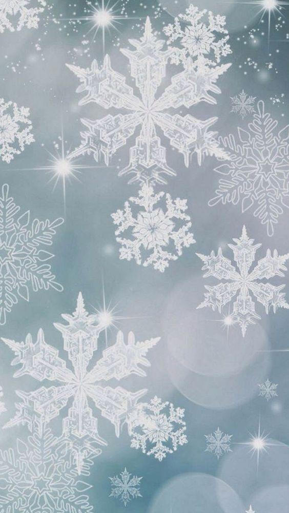 snowflake wallpaper iphone - photo #6