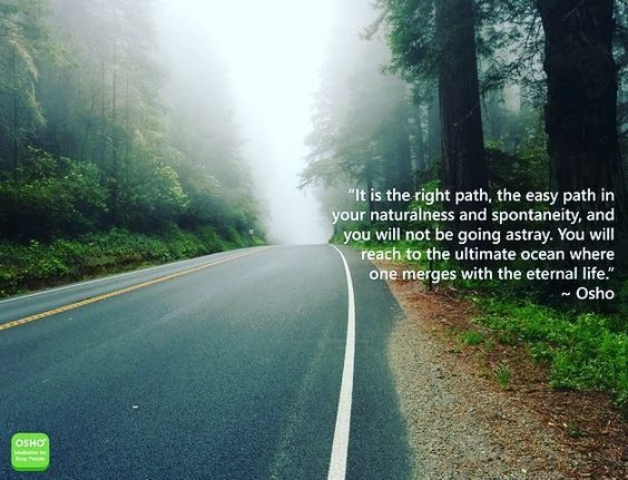 #OSHO On the Right #Path
