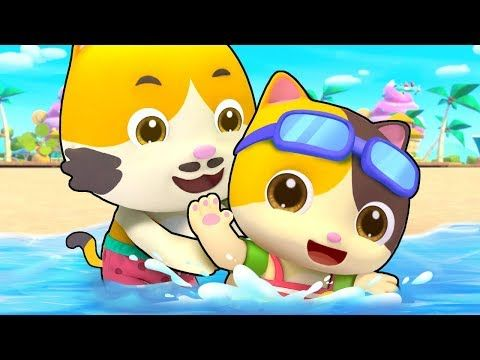 Swimming Song Bath Song Playground Song Colors Song Kids Songs Kids Cartoon Babybus Youtube Color Songs Popular Kids Songs Kids Songs