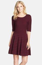 IvankaTrump Fit & Flare Sweater Dress