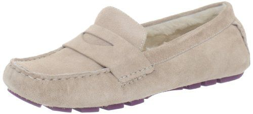 Cole Haan Women`s Sadie Shearling Driver Loafer $110.90