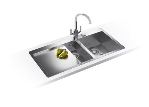 Franke Kitchen Sinks Planar PPX 251 TL Stainless Steel