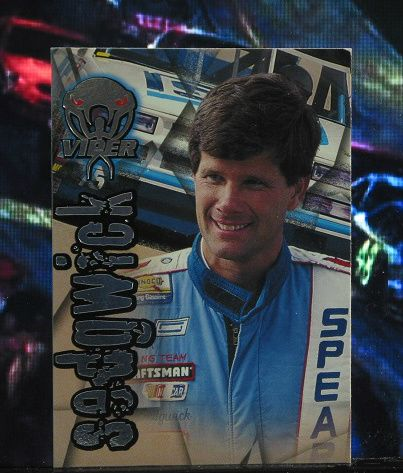http://nascarniche.blogspot.com/  Bill Sedgwick Truck Series 1996 Wheels Viper Trading Card #69 Base Set Nascar