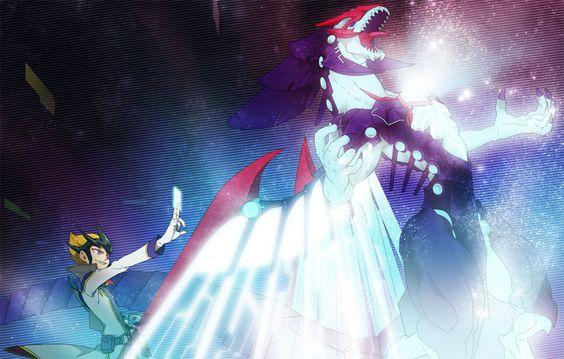Kaito And Galaxy Eyes Photon Dragon Galaxy Eyes Yu Gi Oh Zexal Kaito
