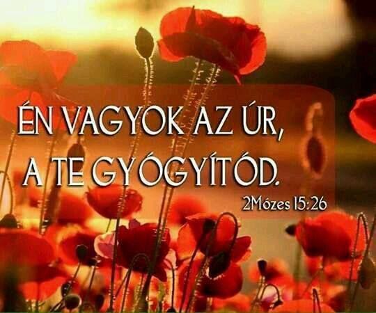 Én vagyok az Úr  a te gyógyítód