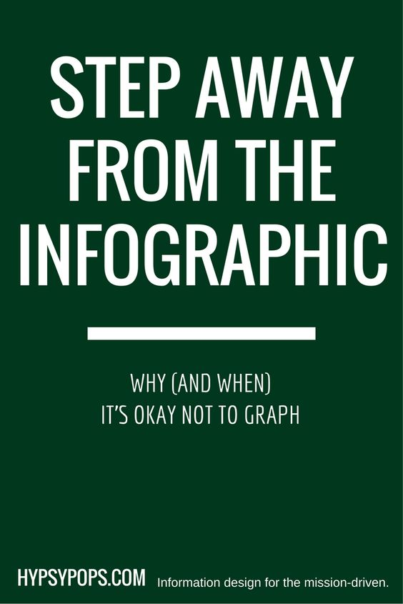 Step away from the spreadsheet Why (and when) it\u0027s okay not to graph