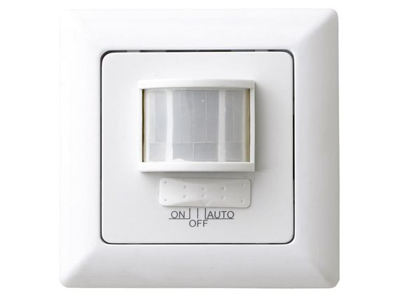 Chacon détecteur de mouvement à encastrer blanc| Hubo