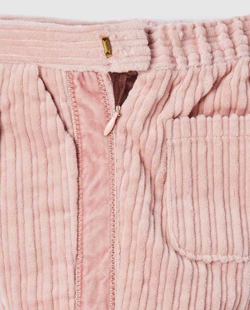Bass 10 Pantalon De Bebe Nina Bass 10 Efecto Pana Rosa Pantalones Bebe Moda Moda Para Mujer