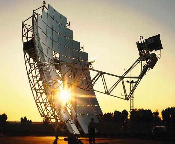 Concentradores parabólicos de energia solar