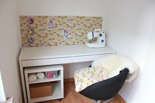 Krijtbord Keuken Xenos : Magneetbord met stof DIY Pinterest Ikea