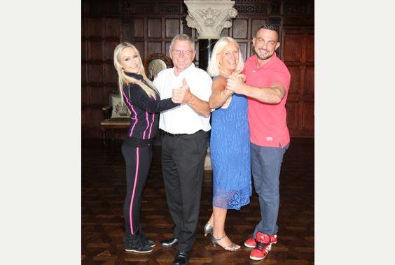 Strictly Come Dancing stars delight fans at Huntsham Court | Tiverton Mid Devon Gazette
