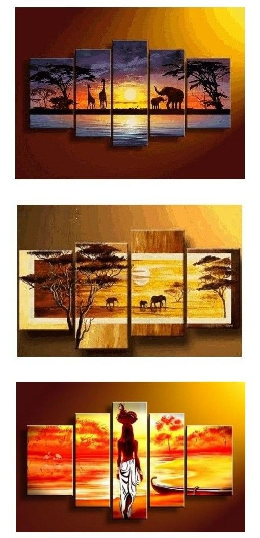 Extra Large Hand Painted Art Paintings For Home Decoration Large Wall Art Canvas Painting For Be Abstract Wall Art Painting African Paintings Canvas Painting Online painting for living room