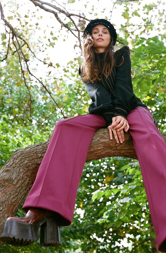 Gli Arcani Supremi (Vox clamantis in deserto - Gothian): Trend alert and must have: cropped pants, ankle lenght, culottes, flounce ruffle pants, bell sleeves, bottom fringed, splitted pants, popper pants. Tutte le alternative ai vecchi skinny