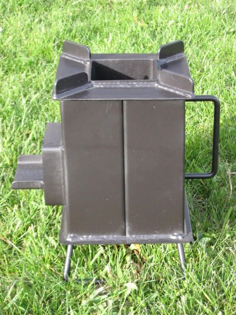 Buy a heavy duty grover rocket stove prepping survival for Heavy duty rocket stove
