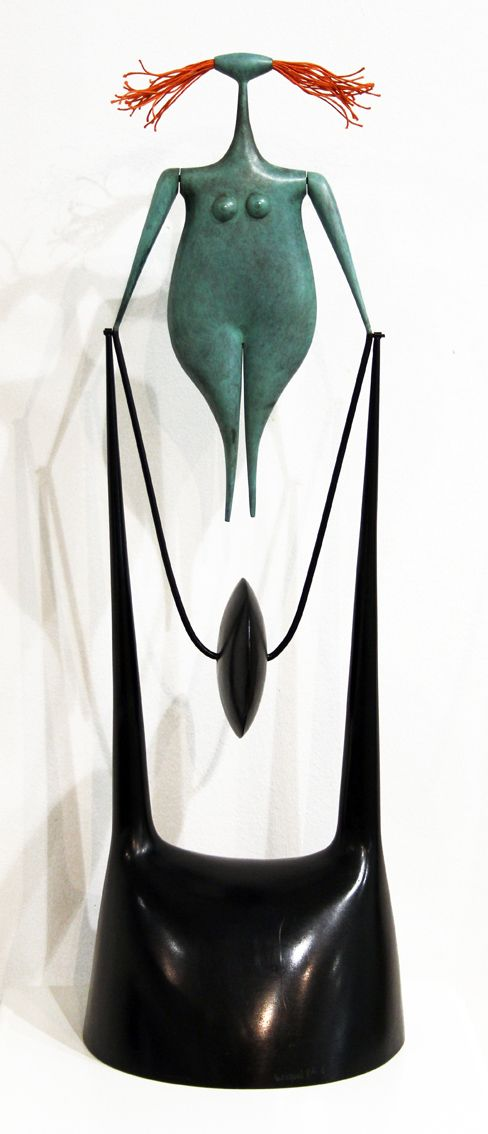 """Sculpture """"Moulinette"""" par Philippe HIQUILY  www.laurentstrouk.com"""