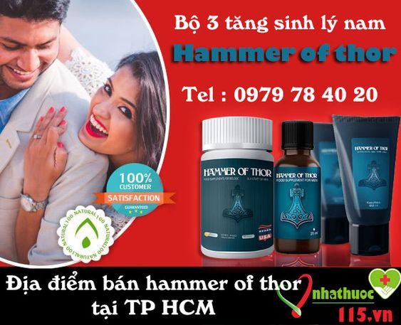 Điểm bán hammer of thor giá sỉ tốt nhất 2018 - Hammer of thor có thể giúp quý ông ngăn chặn hiệu quả các rối loạn chức năng cương dương - với Hammer of Thor , không bao giờ là quá muộn để thay đổi! Hammer of Thor hoàn toàn an toàn #diembanhammerofthor #hammerofthorgiasi #hammerofthor