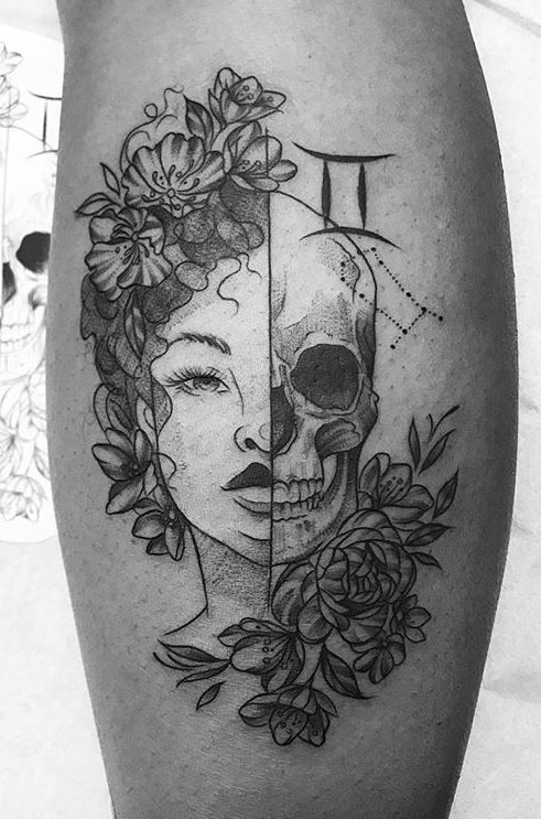75 Unique Gemini Tattoos To Compliment Your Personality And Body Tattoo Me Now In 2020 Gemini Tattoo Gemini Tattoo Designs Twin Tattoos