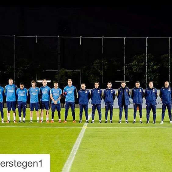 #Repost @mterstegen1 ・・・ Football is more than just a game, it brings respect and unity. Together we are stronger!
