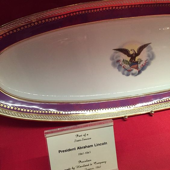 President Lincoln's China!