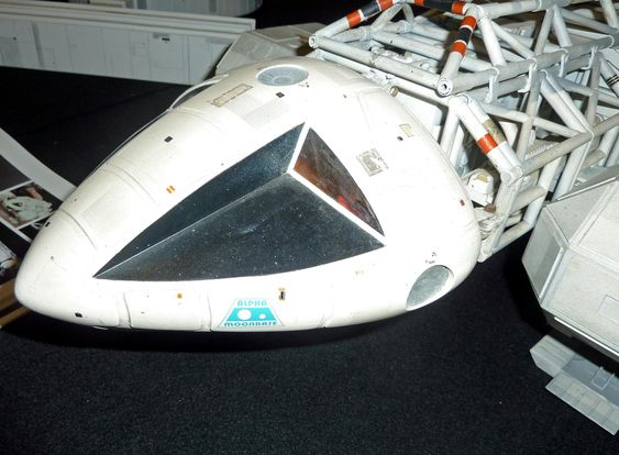 """Eagle Command Module from original 44"""" production model built by Brian Johnson for the television series Space: 1999."""