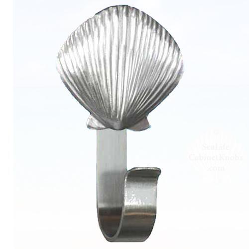 Scallop Shell Towel Hook 310 Nautical Bathroom Accessories