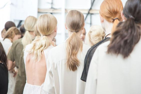 pony tail party at Jason Wu Get Your Hair Did Pinterest Jason