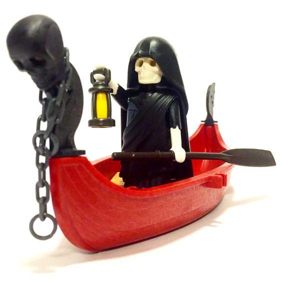 Playmobil Charon, the Ferryman of Hades