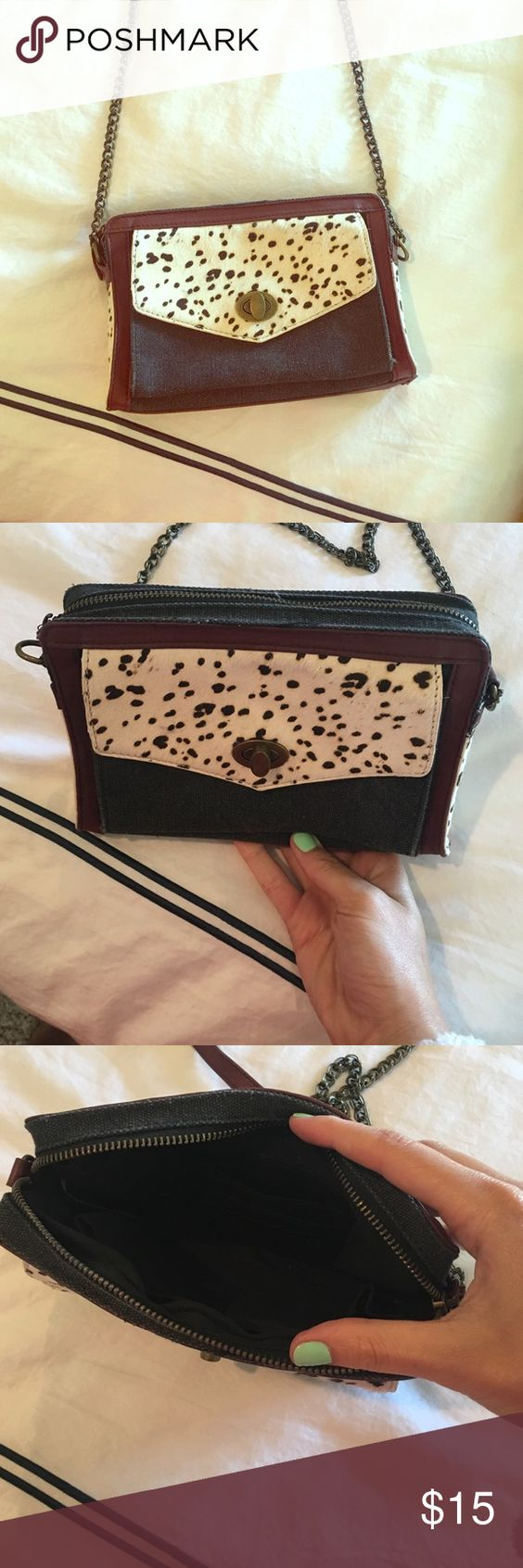 Crossbody bag purchased from anthropologie Perfect condition crossbody Anthropologie Bags Crossbody Bags