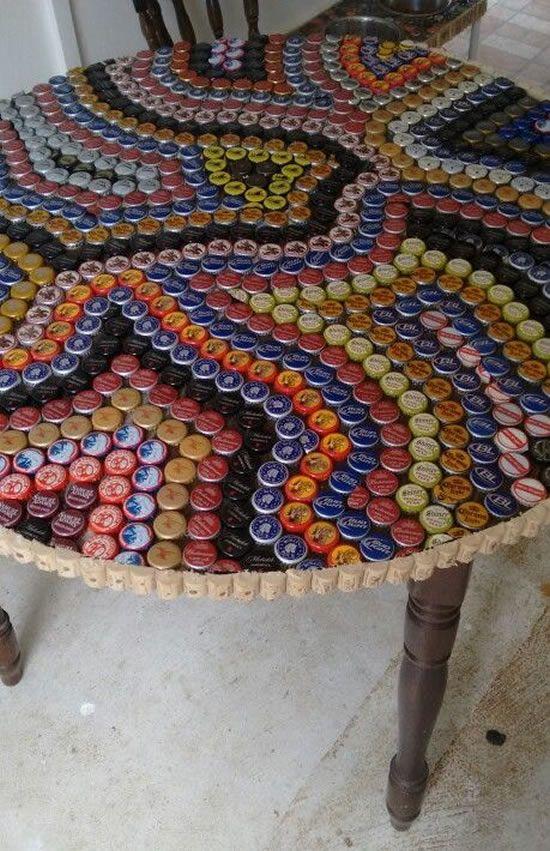 Artesanato Com Tampinhas De Refrigerante Artesanato Com Tampa De