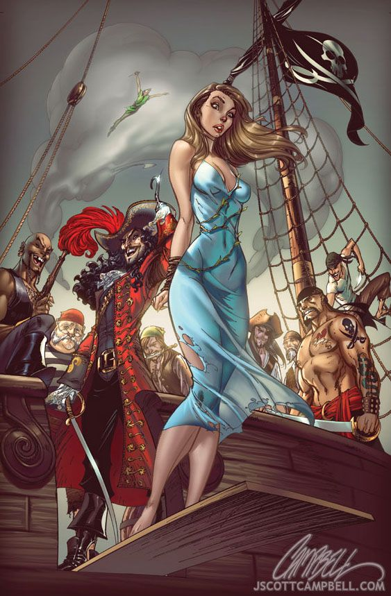 #fairytale #fantasies by j scott campbell